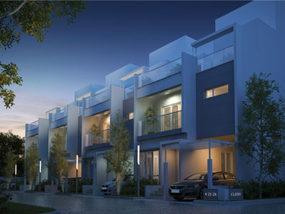 Aquatica, Milestone Symphony, Row Villas in Jigani