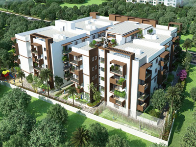 Milestone Grand, Apartments in Jigani